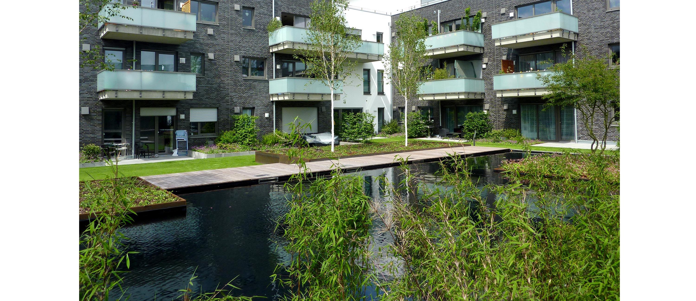 Mehrfamilienhäuser Carree am See in Kaarst