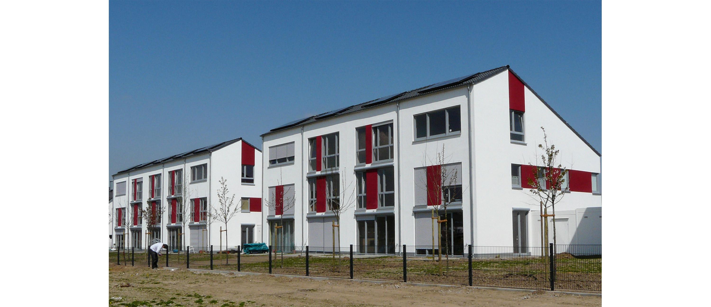 Reihenhäuser in Köln