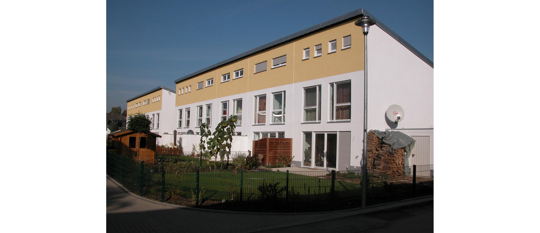 Mehrfamilienhäuser am Park